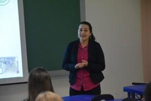 Patrícia Araújo, biomédica
